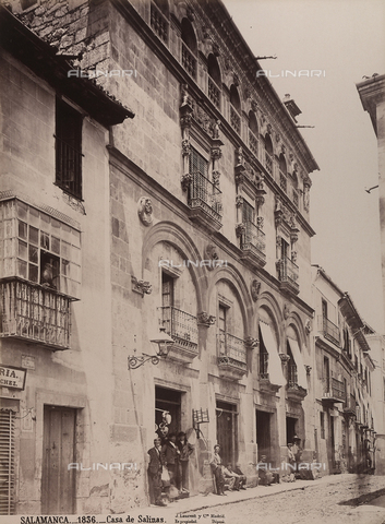 AVQ-A-002692-0083 - Casa de Salinas a Salamanca - Data dello scatto: 1875 ca. - Archivi Alinari, Firenze