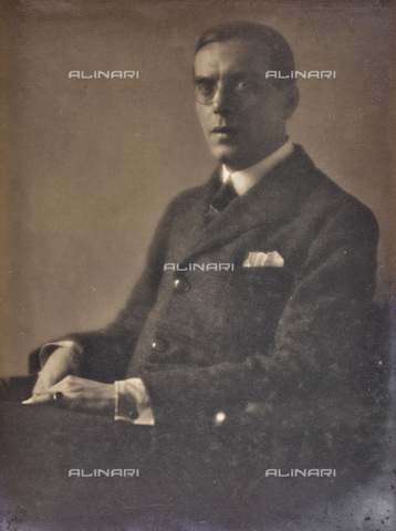 AVQ-A-002773-0069 - Portrait of a Man - Date of photography: 1920-1930 - Fratelli Alinari Museum Collections, Florence
