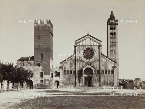 AVQ-A-002827-0042 - La Chiesa di S. Zeno Mggiore, Verona - Data dello scatto: 1870 ca. - Archivi Alinari, Firenze