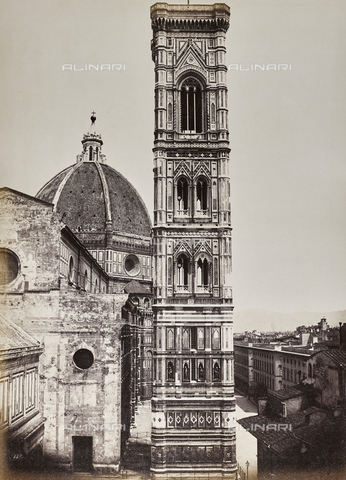 "AVQ-A-002965-0022 - Bell tower of Cathedral of Santa Maria del Fiore, called ""Campanile di Giotto"", Florence"