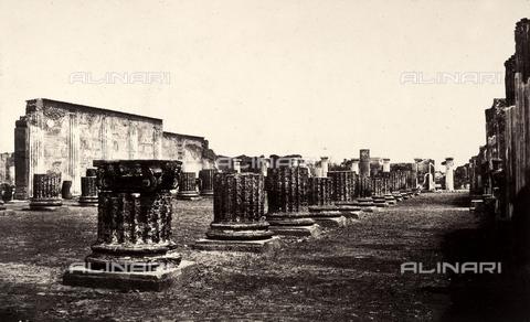 AVQ-A-002966-0080 - Resti della Basilica di Pompei - Data dello scatto: 1862 ca. - Archivi Alinari, Firenze