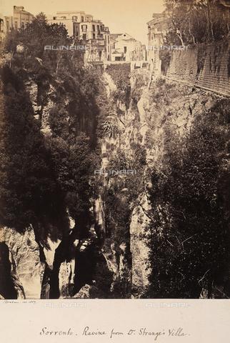 AVQ-A-002966-0098 - Gorge on the outskirts of Sorrento. - Data dello scatto: 1859 - Archivi Alinari, Firenze