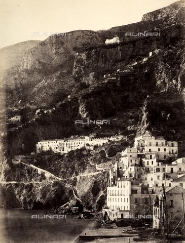 AVQ-A-002966-0100 - Il Convento dei Cappuccini ad Amalfi - Data dello scatto: 1854-1863 ca. - Archivi Alinari, Firenze