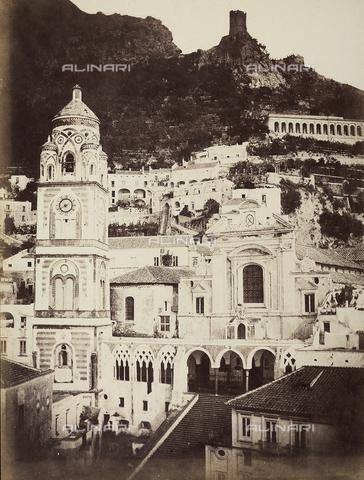 AVQ-A-002966-0101 - Il Duomo di Sant'Andrea ad Amalfi - Data dello scatto: 1854-1863 ca. - Archivi Alinari, Firenze
