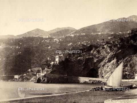 AVQ-A-002966-0104 - The Amalfi coastline with the tourist resorts of Ravello and Minori. - Data dello scatto: 1854-1863 ca. - Archivi Alinari, Firenze