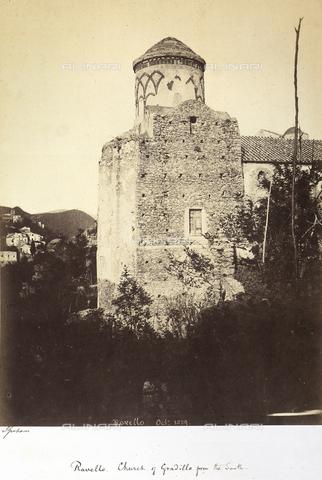 AVQ-A-002966-0105 - La Chiesa romanica di Santa Maria a Gradillo, Amalfi - Data dello scatto: 10/1859 - Archivi Alinari, Firenze