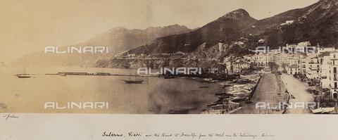 AVQ-A-002966-0113 - Salerno, Vietri e la strada per Amalfi. - Data dello scatto: 1854-1863 ca. - Archivi Alinari, Firenze