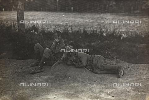 AVQ-A-003160-0061 - Prima Guerra Mondiale: prigionieri - Data dello scatto: 1915-1918 - Archivi Alinari, Firenze