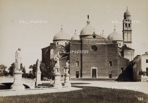 AVQ-A-003201-0004 - The Church of Santa Giustina, Padua - Data dello scatto: 1877 - Archivi Alinari, Firenze