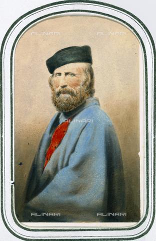 AVQ-A-003378-0001 - Portrait of Giuseppe Garibaldi - Data dello scatto: 1870 ca. - Archivi Alinari, Firenze