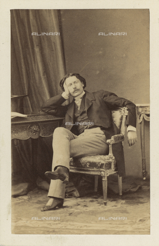 AVQ-A-003379-0015 - Portrait of Conte Costantino Nigra, Italian Ambassador to Paris - Data dello scatto: 1860 - 1870 - Archivi Alinari, Firenze