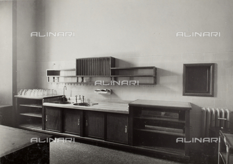 AVQ-A-003455-0058 - Kitchen of the Aviator House, Rome
