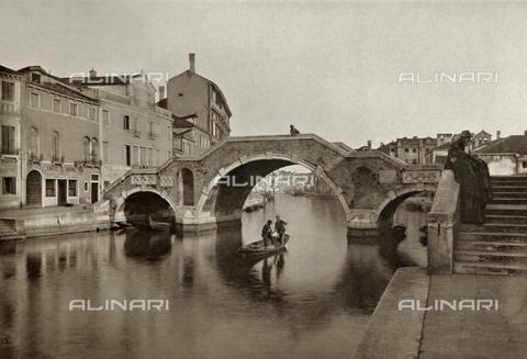 AVQ-A-003475-0085 - Veduta animata di Ponte San Giobbe, Venezia - Data dello scatto: 1890-1895 - Raccolte Museali Fratelli Alinari (RMFA), Firenze