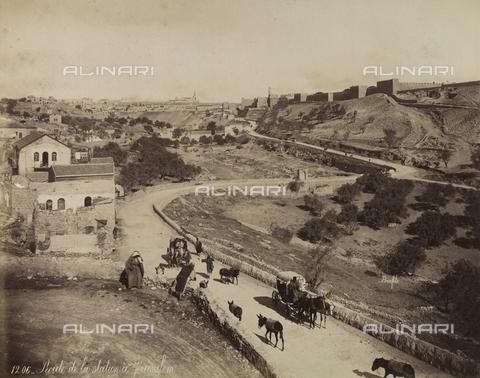 AVQ-A-003744-0047 - Road to Jerusalem, Israel - Data dello scatto: 1896 - Archivi Alinari, Firenze
