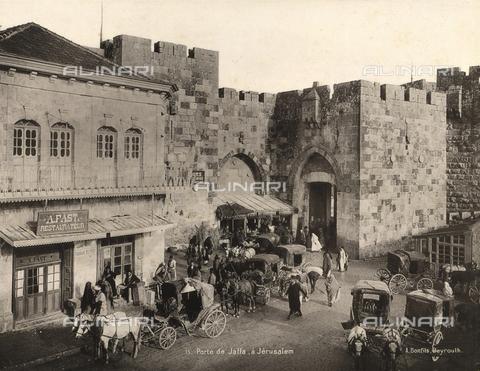 AVQ-A-003744-0049 - Port of Jaffa in Jerusalem, Israel - Data dello scatto: 1896 - Archivi Alinari, Firenze
