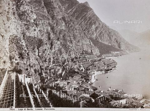AVQ-A-003747-0057 - View of Limone on Lake Garda - Data dello scatto: 1870-1880 - Archivi Alinari, Firenze