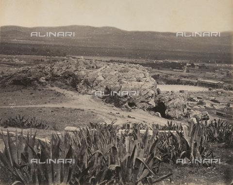 """AVQ-A-003848-0031 - """"Souvenirs d'Orient"""": l'Areopago ad Atene - Data dello scatto: 1871 - Raccolte Museali Fratelli Alinari (RMFA), Firenze"""