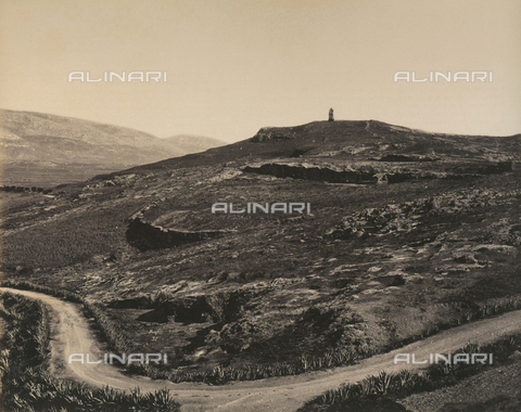"""AVQ-A-003848-0033 - """"Souvenirs d'Orient"""": Acropolis of Athens seen from the Pritaneo in the Pnice hills - Date of photography: 1871 - Fratelli Alinari Museum Collections, Florence"""