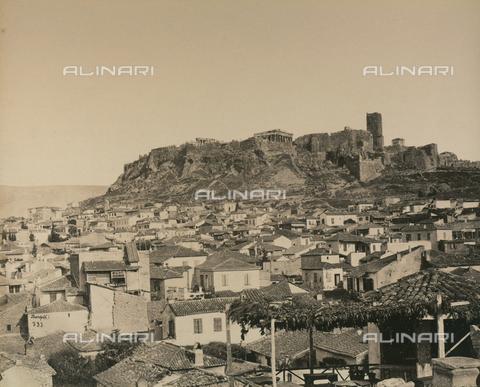 """AVQ-A-003848-0034 - """"Souvenirs d'Orient"""": Acropoli di Atene - Data dello scatto: 1871 - Raccolte Museali Fratelli Alinari (RMFA), Firenze"""