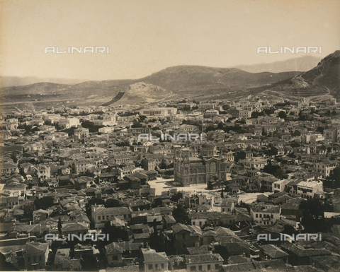 """AVQ-A-003848-0035 - """"Souvenirs d'Orient"""": Athens - Date of photography: 1871 - Fratelli Alinari Museum Collections, Florence"""