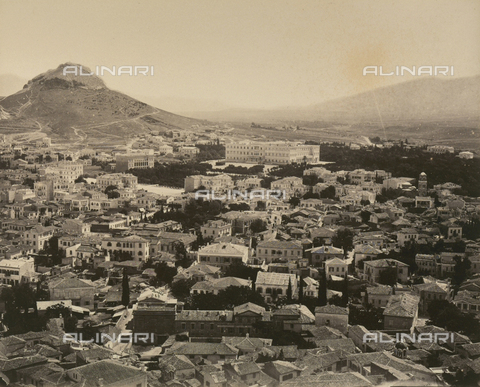"""AVQ-A-003848-0036 - """"Souvenirs d'Orient"""": Athens - Date of photography: 1871 - Fratelli Alinari Museum Collections, Florence"""