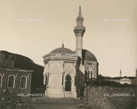 """AVQ-A-003848-0049 - """"Souvenirs d'Orient"""": the mosque of Fuald Pacha in Constantinople - Date of photography: 1871 - Fratelli Alinari Museum Collections, Florence"""