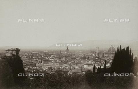AVQ-A-003862-0043 - Panorama di Firenze ripreso da San Miniato - Data dello scatto: 1860 ca. - Archivi Alinari, Firenze