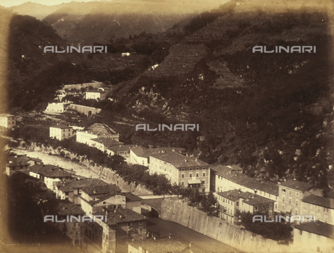 AVQ-A-003862-0086 - View of Bagni di Lucca - Date of photography: 1865 ca. - Fratelli Alinari Museum Collections, Florence