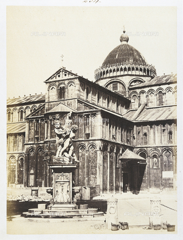 AVQ-A-003862-0095 - Pisa. The cathedral - Date of photography: 1870 ca. - Fratelli Alinari Museum Collections, Florence