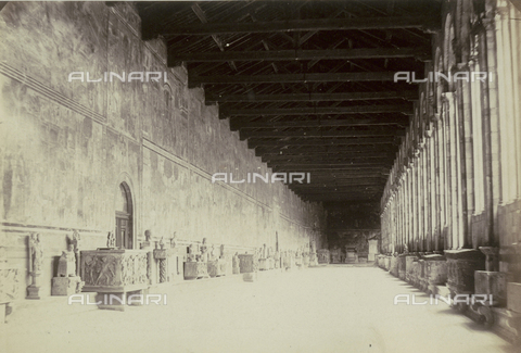 AVQ-A-003862-0099 - Interior of the Cemetery of Pisa - Data dello scatto: 1860 ca. - Archivi Alinari, Firenze