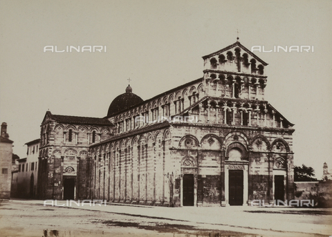 AVQ-A-003862-0113 - Church of Saint Paul in Ripa d'Arno, Pisa - Date of photography: 1865 ca. - Fratelli Alinari Museum Collections, Florence