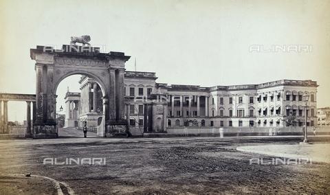 AVQ-A-003894-0005 - Il Palazzo del Governo a Calcutta, in India - Data dello scatto: 1870-1880 - Archivi Alinari, Firenze