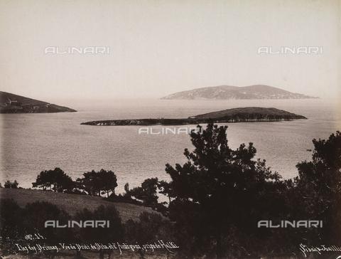 AVQ-A-003909-0005 - Le Isole dei Principi prese da Halki in Turchia - Data dello scatto: 1885 - 1890 ca. - Archivi Alinari, Firenze