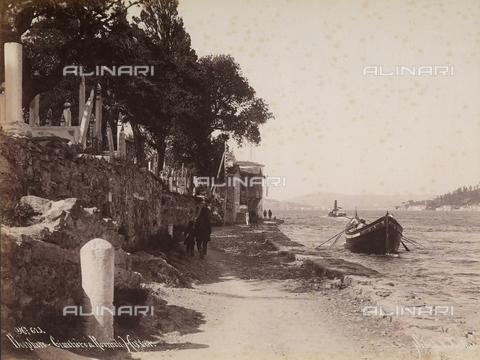 AVQ-A-003909-0009 - Il cimitero a Roumeli-Hissar sul Bosforo - Data dello scatto: 1885 - 1890 ca. - Archivi Alinari, Firenze