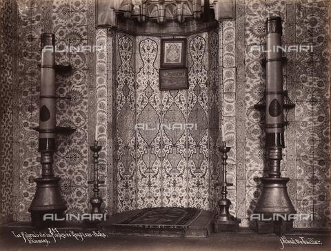 AVQ-A-003909-0029 - Mihrab della moschea Rustem Pasa Camii a Istanbul - Data dello scatto: 1885 - 1890 ca. - Archivi Alinari, Firenze