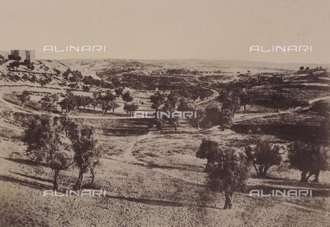 AVQ-A-004115-0003 - La strada di Beit-Lehem a Gerusalemme - Data dello scatto: 1856 - Raccolte Museali Fratelli Alinari (RMFA), Firenze