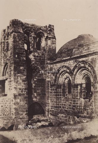 AVQ-A-004115-0005 - Il campanile della Basilica del Santo Sepolcro a Gerusalemme - Data dello scatto: 1856 - Raccolte Museali Fratelli Alinari (RMFA), Firenze