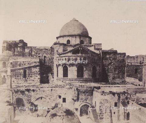 AVQ-A-004115-0007 - L'abside del Santo Sepolcro di Gerusalemme - Data dello scatto: 1856 - Raccolte Museali Fratelli Alinari (RMFA), Firenze