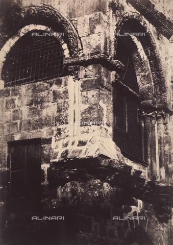 AVQ-A-004115-0022 - La Cappella del Calvario del Santo Sepolcro a Gerusalemme - Data dello scatto: 1856 - Raccolte Museali Fratelli Alinari (RMFA), Firenze