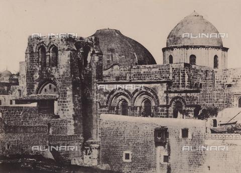 AVQ-A-004115-0026 - The Holy Sepulchre, in Jerusalem - Data dello scatto: 1856 - Archivi Alinari, Firenze