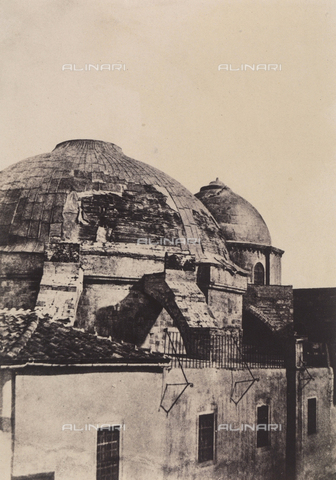 AVQ-A-004115-0031 - La cupola del Santo Sepolcro a Gerusalemme - Data dello scatto: 1856 - Raccolte Museali Fratelli Alinari (RMFA), Firenze