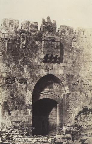 AVQ-A-004115-0033 - Saint Stephen's Gate in Jerusalem - Data dello scatto: 1856 - Archivi Alinari, Firenze