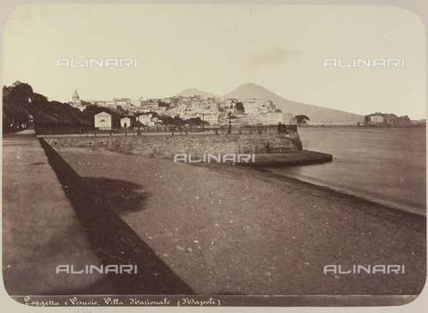 AVQ-A-004117-0022 - View of the Riviera di Chiaia, in Naples - Date of photography: 1865 ca. - Fratelli Alinari Museum Collections, Florence
