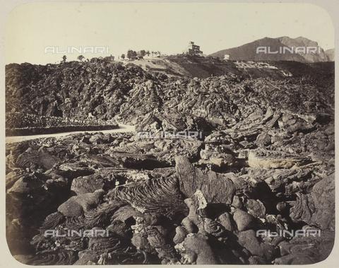 AVQ-A-004117-0025 - Lava from Vesuvius - Data dello scatto: 1872 ca. - Archivi Alinari, Firenze