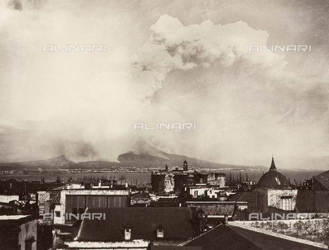 AVQ-A-004117-0027 - The April 26, 1872 eruption of Vesuvius - Date of photography: 1872 ca. - Fratelli Alinari Museum Collections, Florence
