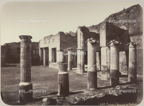 AVQ-A-004117-0033 - The Stabian Baths in Pompeii - Date of photography: 1865 ca. - Fratelli Alinari Museum Collections, Florence