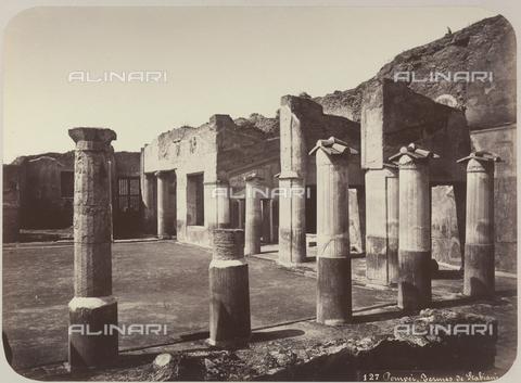 AVQ-A-004117-0033 - Le Terme Stabiane di Pompei - Data dello scatto: 1865 ca. - Raccolte Museali Fratelli Alinari (RMFA), Firenze