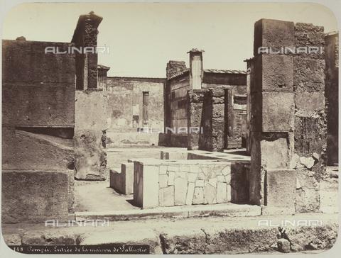 AVQ-A-004117-0038 - La Casa di Sallustio a Pompei - Data dello scatto: 1865 ca. - Raccolte Museali Fratelli Alinari (RMFA), Firenze