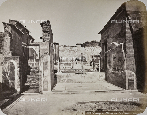 AVQ-A-004117-0041 - House of Marcus Lucretius, Pompeii - Date of photography: 1865 ca. - Fratelli Alinari Museum Collections, Florence