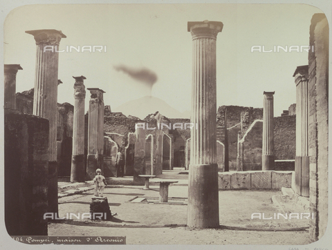 AVQ-A-004117-0042 - House of Marcus Holconius, Pompeii - Date of photography: 1865 ca. - Fratelli Alinari Museum Collections, Florence